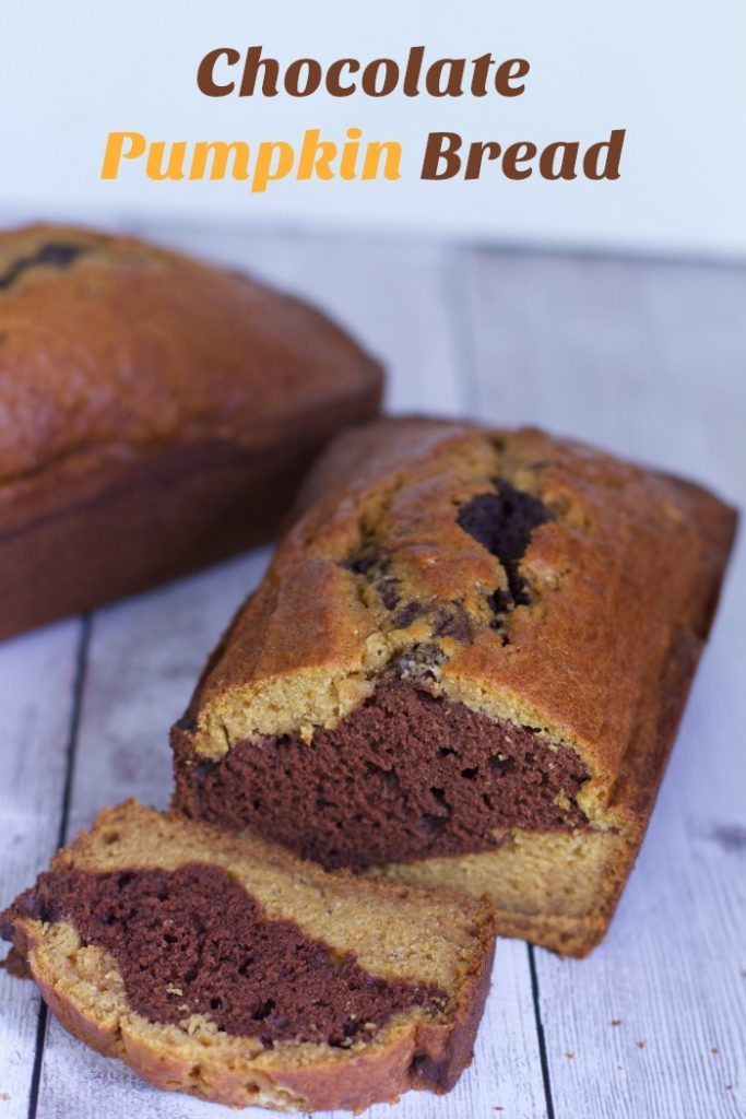 A wonderful fall combination with this Chocolate pumpkin quick bread recipe