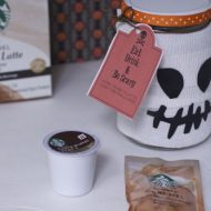 Cute Coffee Halloween Teacher Gift Ideas