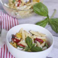 Mediterranean Tri Pepper Pasta Recipe