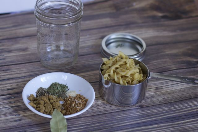 Chicken soup mix in a jar recipe