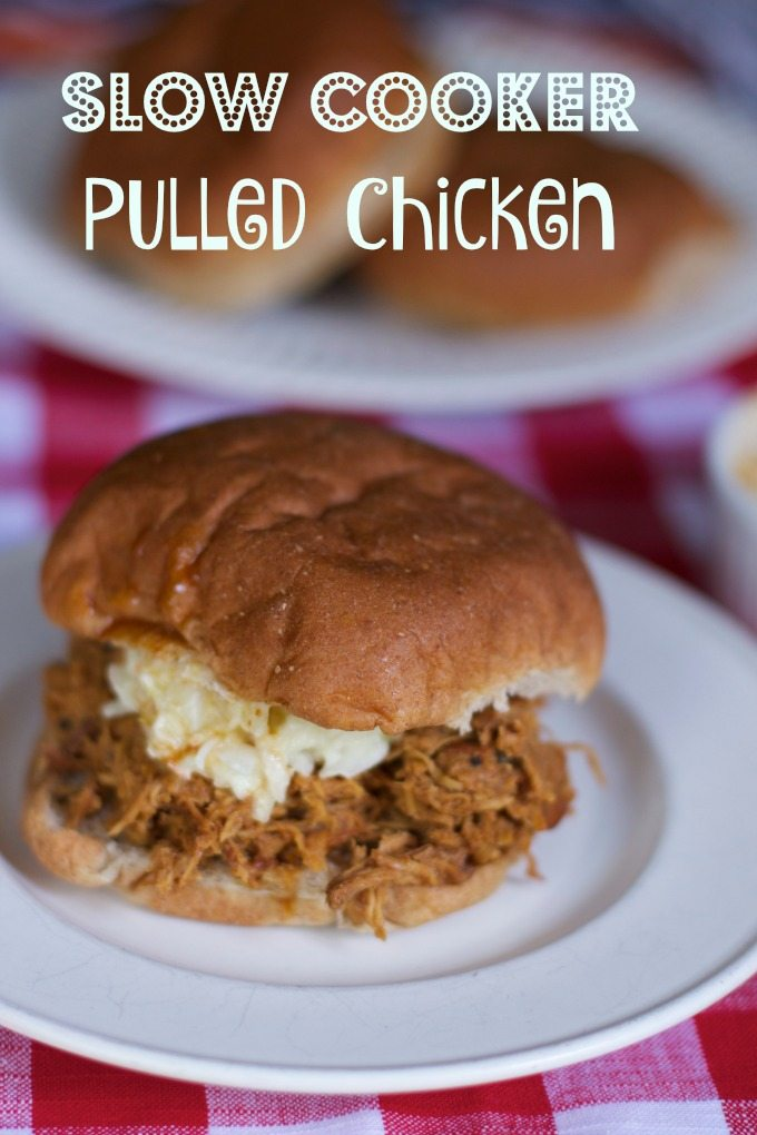 slow cooker pulled chicken recipe