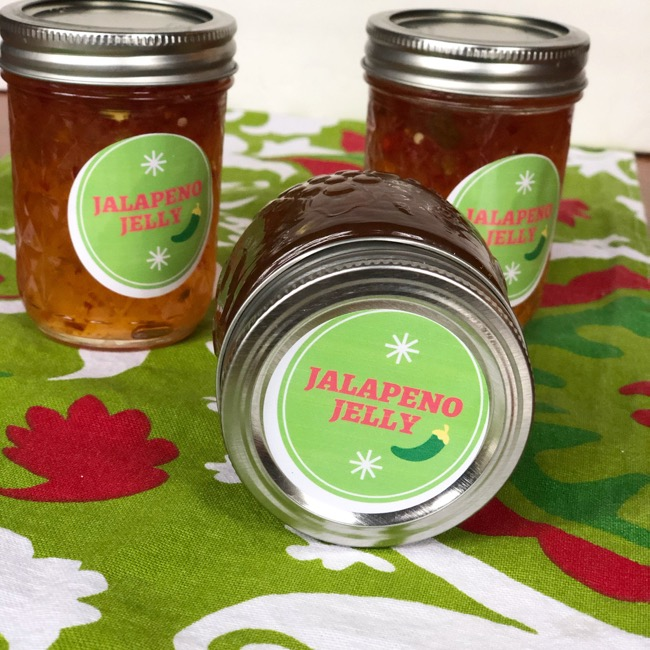 jalapeno Jelly labels printable