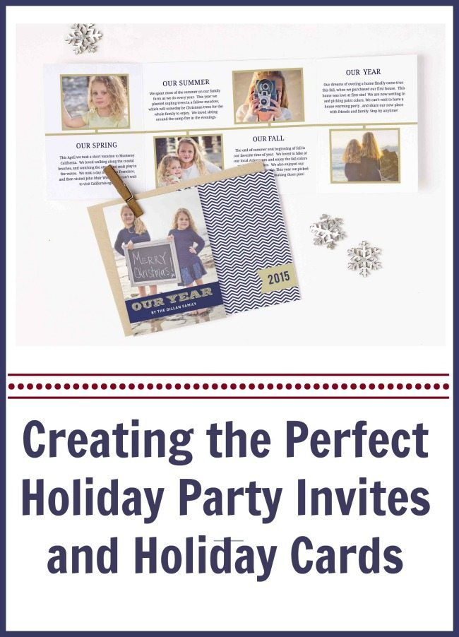 Creating the Perfect Holiday Party Invites and Holiday Cards