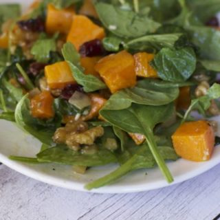 Thanksgiving Leftovers: Roasted Butternut Squash Salad