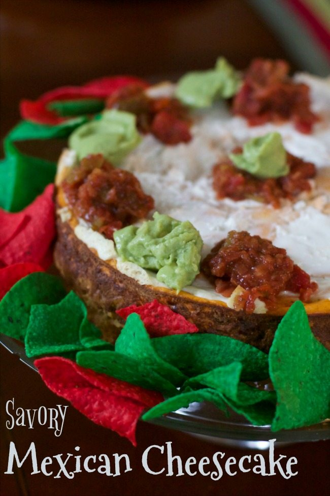 Savory Mexican Cheesecake Recipe