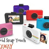 Polaroid Snap Touch Camera #Giveaway