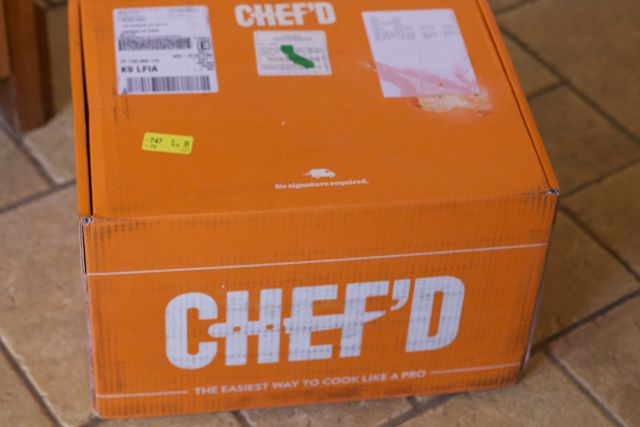 online meal kits chef'd