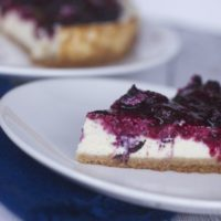 Healthy Cheesecake with Cottage Cheese