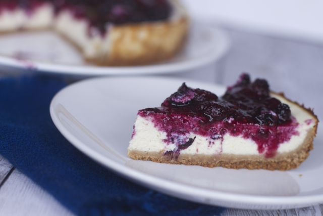 Healthy Cottage Cheese Cheesecake Recipe - Close To Home