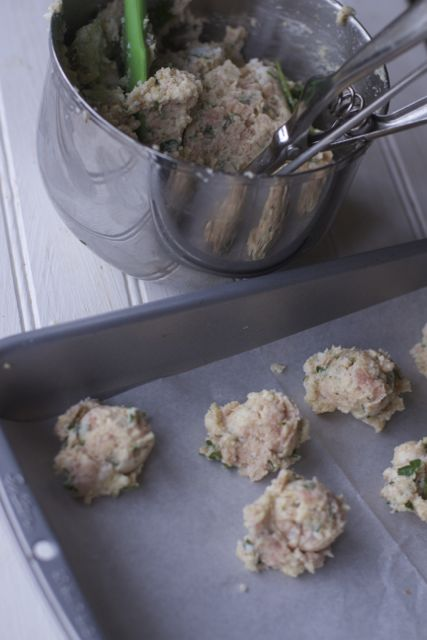 Grandma B's Italian Wedding Soup with Ricotta Meatballs