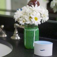 How to Prepare for the #HalftimeBathroomBreak Rush: Super Bowl Party Bathroom Ideas