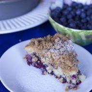 Low Fat Blueberry Crumb Cake Recipe