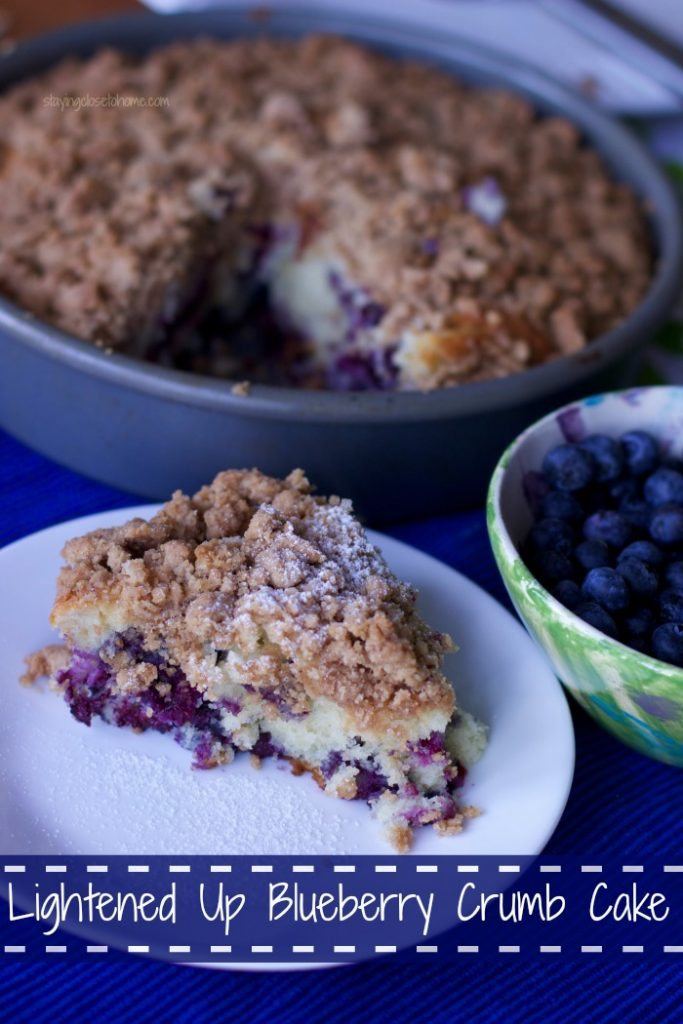 low fat blueberry crumb Cake Recipe