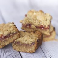 Outrageous Peanut Butter Jelly Bars Recipe