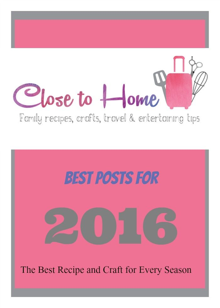 Now for our best crafts & recipes of 2016.
