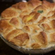 Comfort Food: Short Cut Chicken Pot Pie Recipe