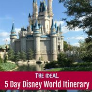 Ideal Five Day Disney World Itinerary Part 2