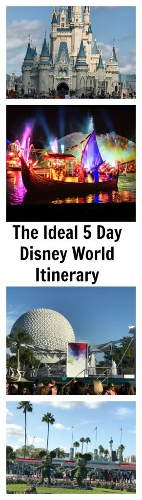 The Ideal 5 Day Disney World Itinerary