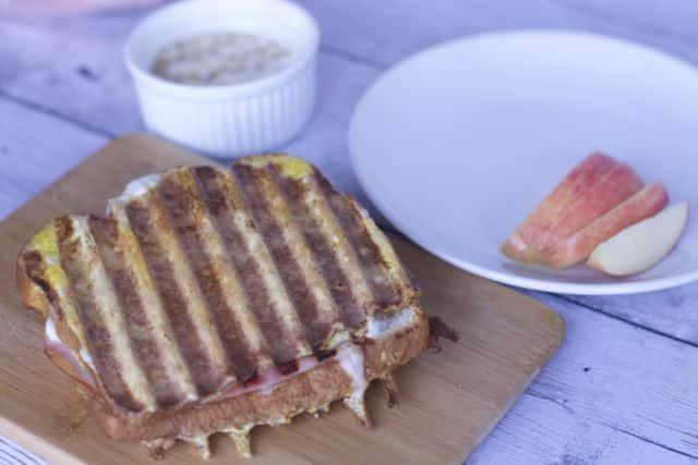 ham and cheese panini recipe