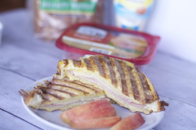 Ham & Cheese French Toast Panini Recipe For Easy Brunch