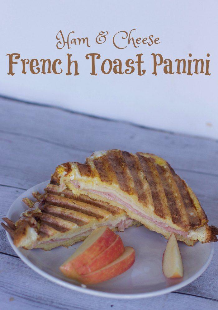 Ham & Cheese French Toast Panini Recipe