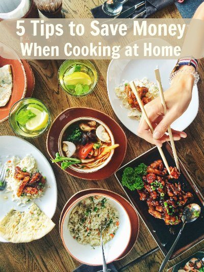 5 Tips to Save Money When Cooking at Home