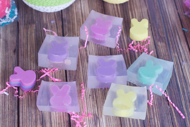 How to Make DIY Bunny Rabbit Bar Soap