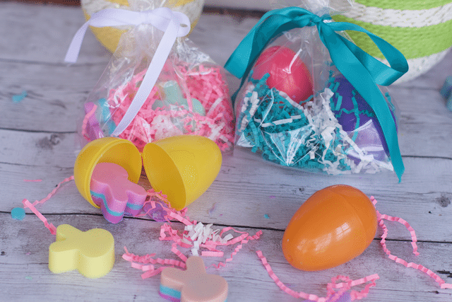 DIY Bunny Rabbit Soap Easter Gifts