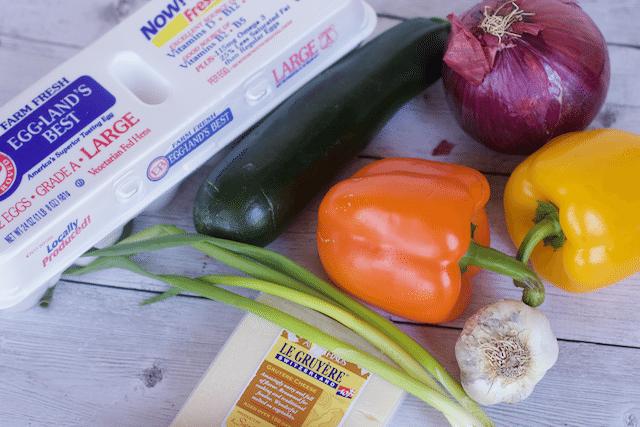 How To Make a Frittata roasted veggie frittata recipe