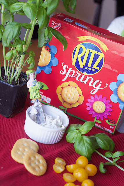 Spring Herb Garden Inspired snacks