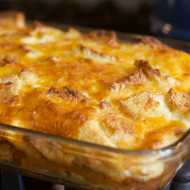 Deliciously Easy Egg and Cheese Overnight Breakfast Casserole