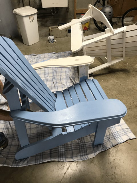 DIY Adirondack Chairs and Double Sided Pillows