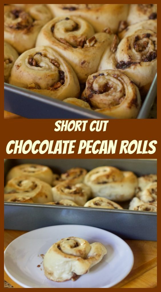 Short Cut Chocolate and Pecan Rolls