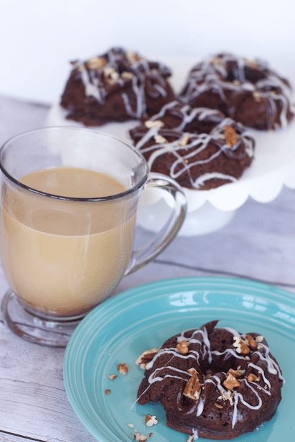 Triple Chocolate Coffee Cake Donuts Recipe
