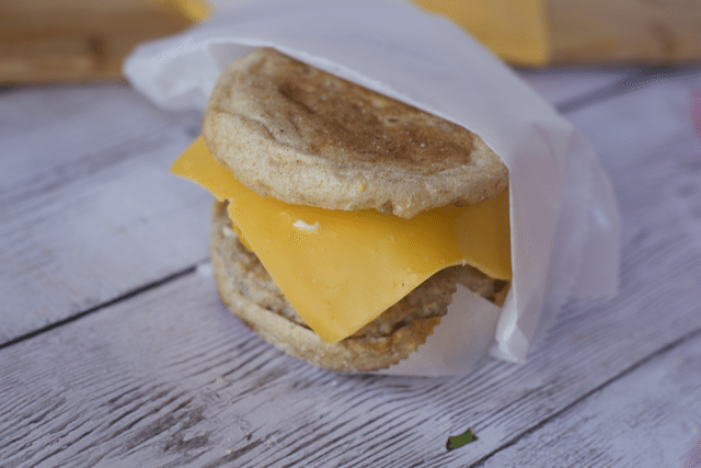 Super Quick Recipe for Egg Sandwich to Freeze