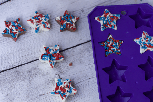 patriotic chocolate stars e Bars