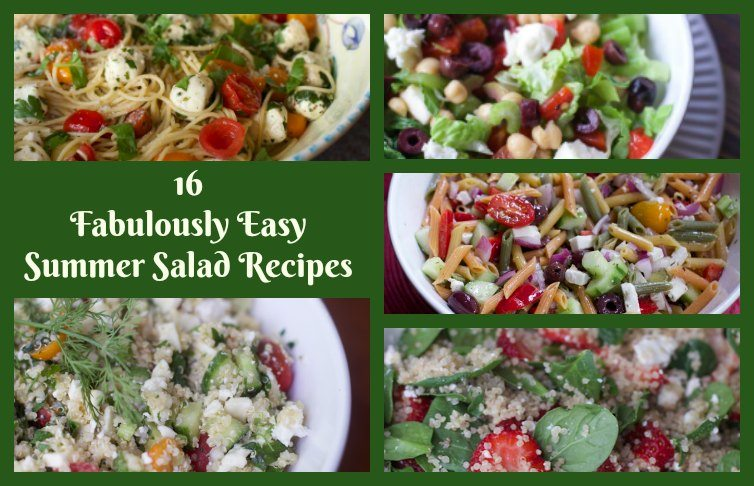 16 Fabulously Easy Summer Salad Recipes