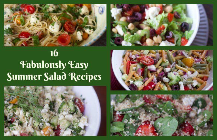 16 Fabulously Easy Summer Salad Recipes