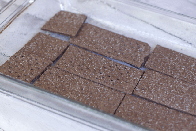 Low Fat Double Chocolate Eclair Icebox Cake Recipe