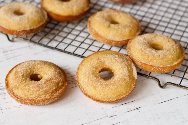 Baked Apple Cider Donuts Recipe (Prep the Night Before)
