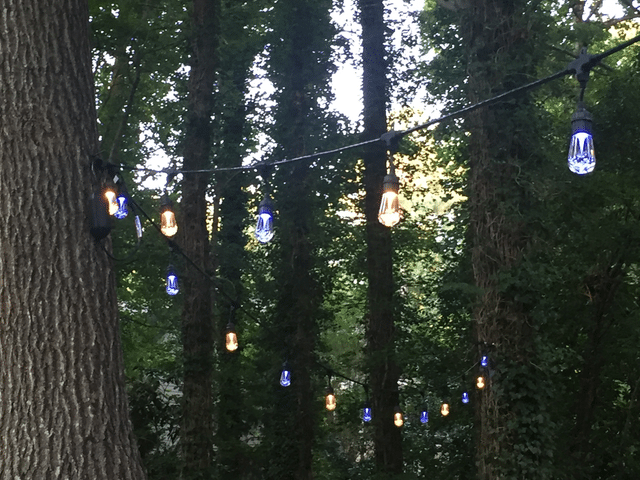 How to Brighten Up Outdoor Party Space