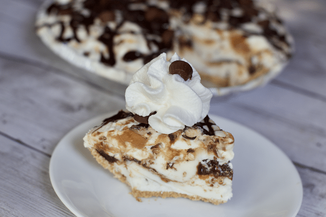 Peanut Butter Fudge Sundae Pie Recipe