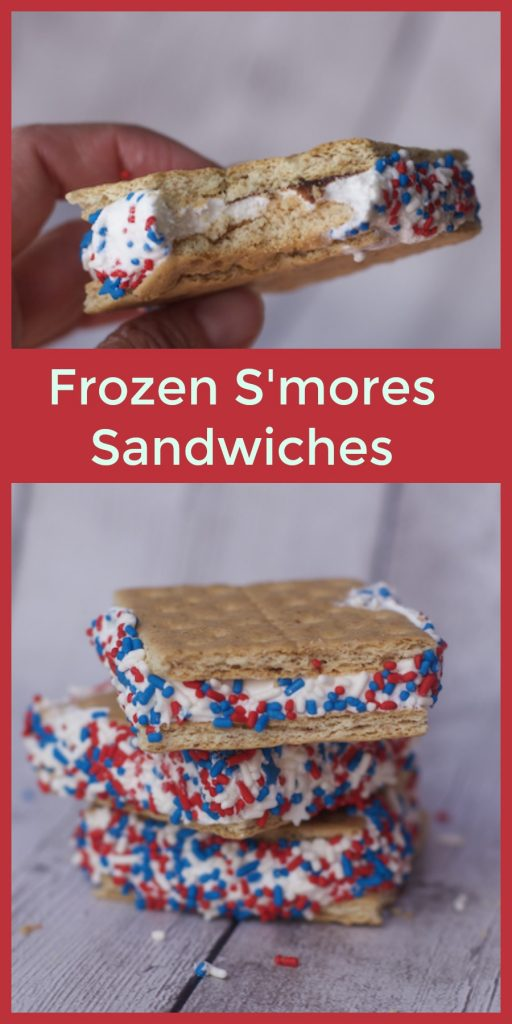frozen fourth of july dessert