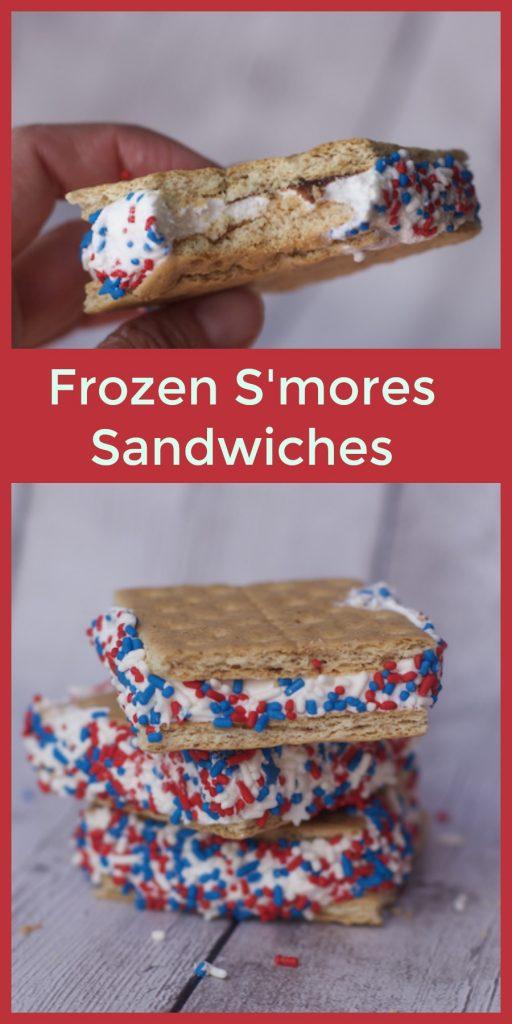 frozen fourth of july dessert