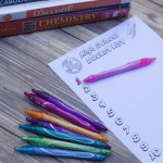 Free High School Bucket List Printable And Smear Free Gel Pens