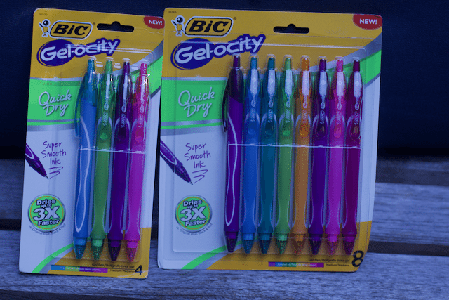 High School Bucket List Gel Pens