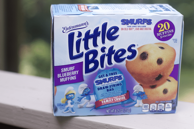 Entenmann's Little Bites and SMURFS Movie Join Forces