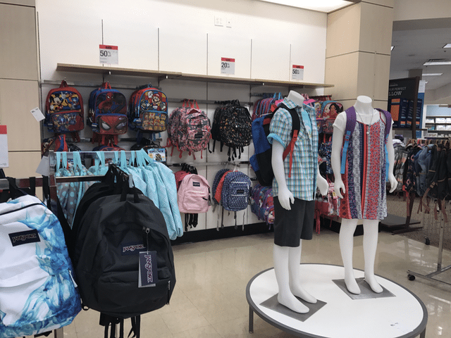 One Stop Back to School Shopping at Sears