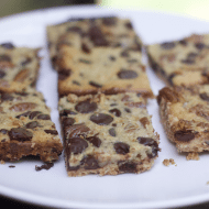 Chocolate Chip Cookie Bars For a Crowd