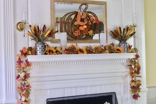Decorating Mantel Ideas For Fall Decor : Change Up Your Decor